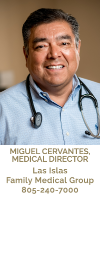 Dr. Miguel Cervantes, Medical Director